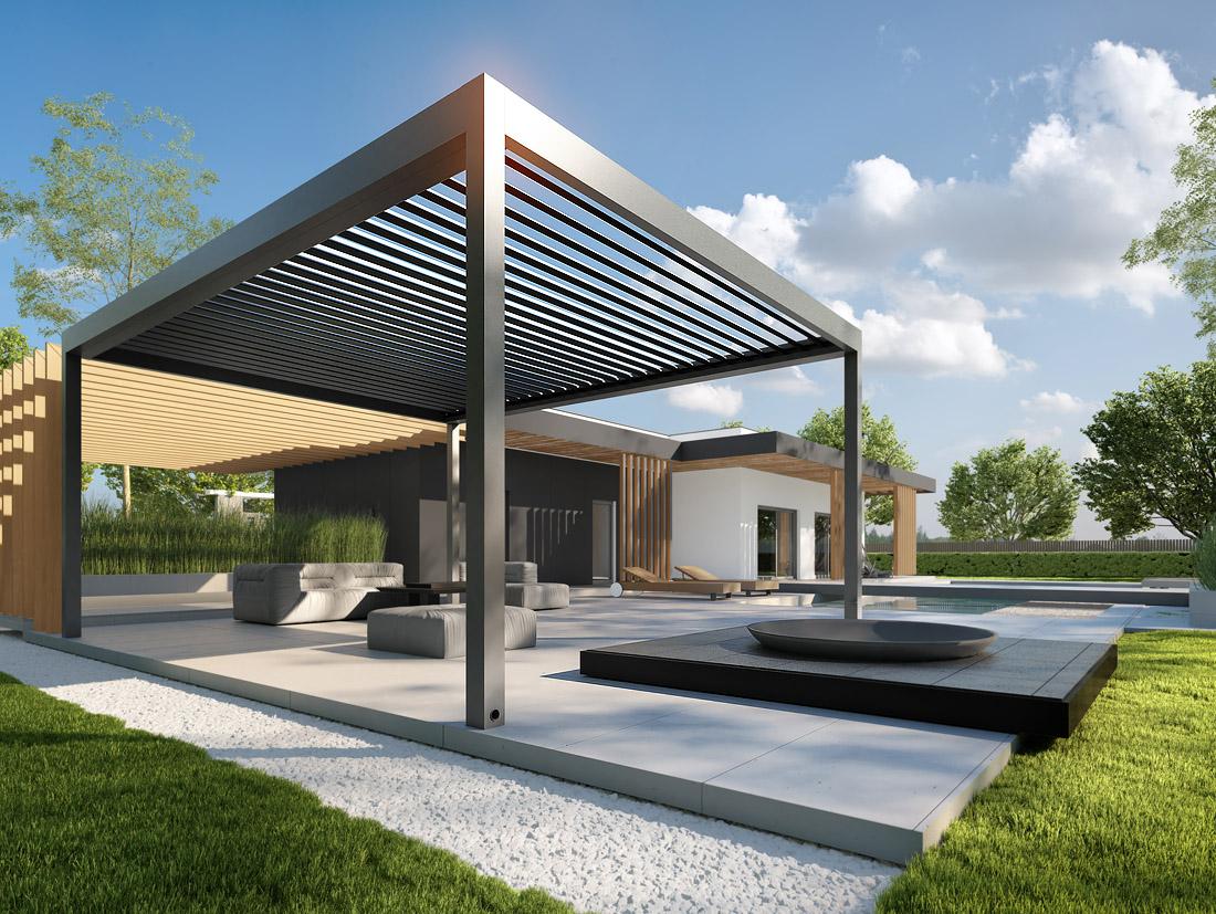 Tarasola Roofing Of The Terrace And Garden Tarasola